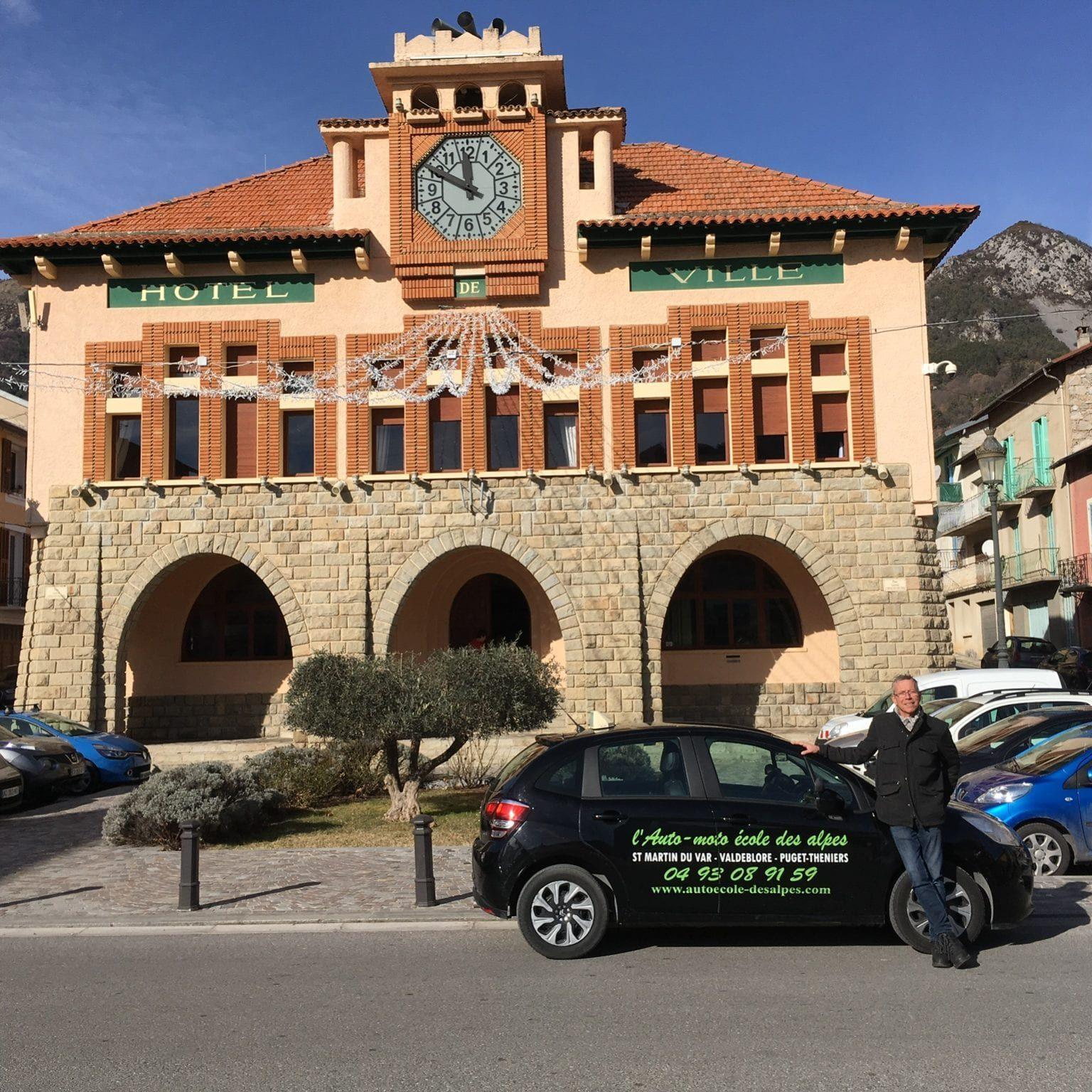 nouveau, cours de code à la mairie de roquebilière tous les samedis matin de 9h à 12h et cours de conduite tous les amedis après midi